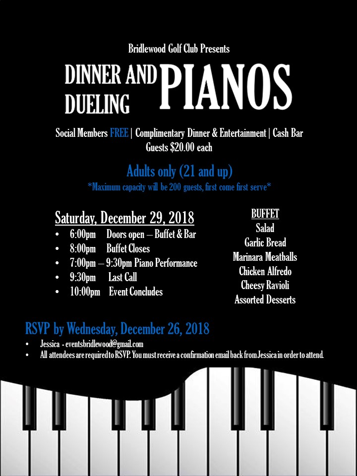 Dueling Piano Flyer 12 29 2018
